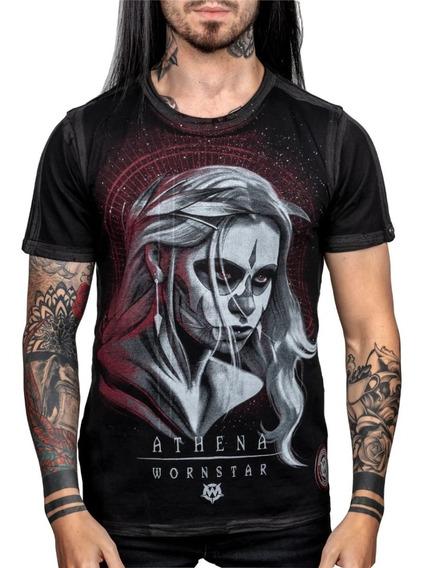 Wornstar Athena Camisa Rock Punk Metal Xl/l