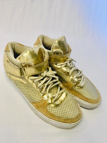 Tênis Ouro