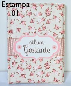 Álbum Gestante 15x21 P/ 80 Fotos