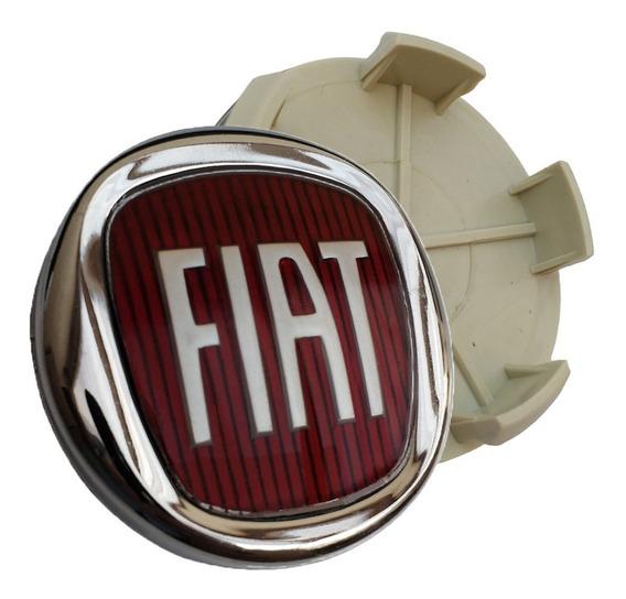 Calota Meio Centro Miolo Tampa Roda Fiat Toro Freemont 60mm