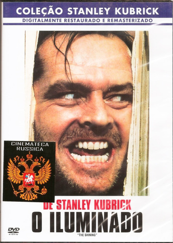 Dvd O Iluminado, Stanley Kubrick, Com Jack Nicholson 1980  +