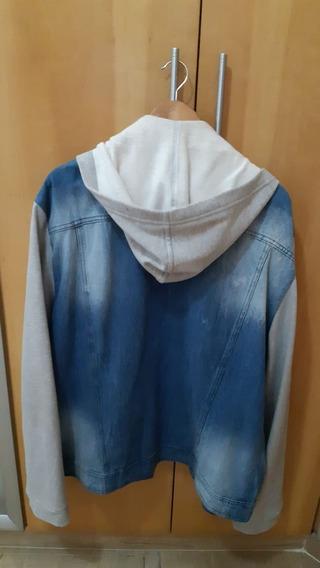 Jaqueta Hering Jeans/moletom Novíssima