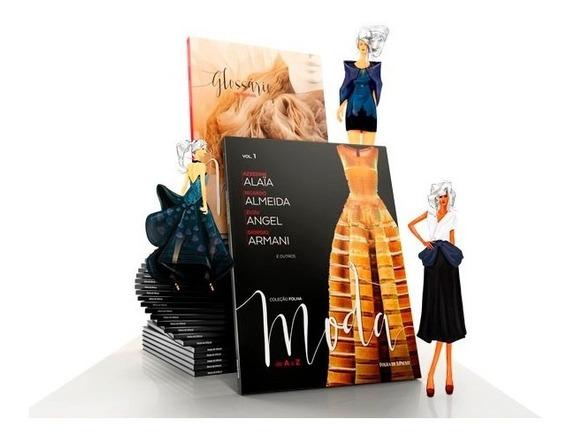 Coleção Folha Moda De Aaz 25 Livros Novos Estilistas Grifes