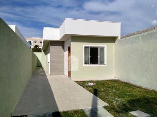 Imagem 1 de 16 de Casa 03 Quartos (01 Suíte) E 03 Vagas No Afonso Pena, São José Dos Pinhais - Ca0700