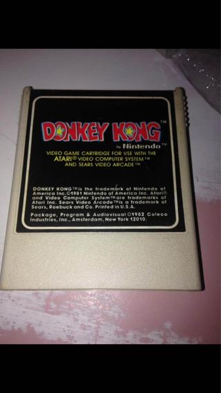 Donkey Kong Atari 2600 Original Coleco Nintendo R$299