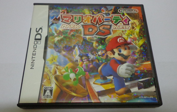 Cartucho Nintendo Ds Original Mario Party Japonês - Funciona