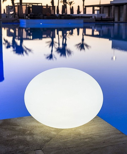 Flatball Lámpara Led Bluetooth De Interior Y Exterior