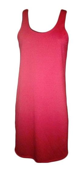 Vestido Musculosa Largo Intermedio Recto Varios Colores