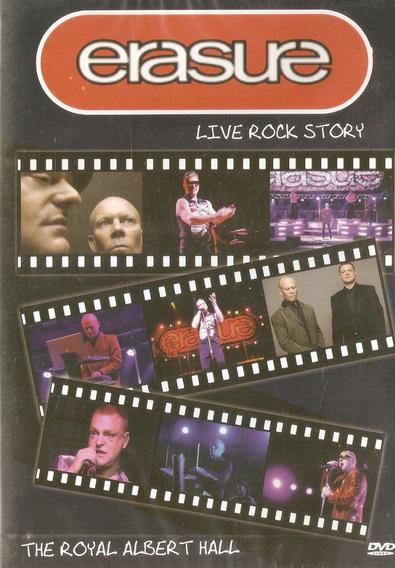 Dvd Erasure - Live Rock Story - Novo Lacrado***