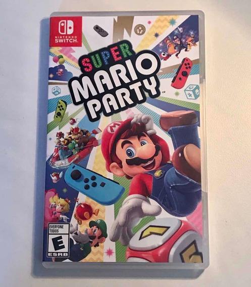 Jogo Super Mario Party Para Nintendo Switch (mídia Física)