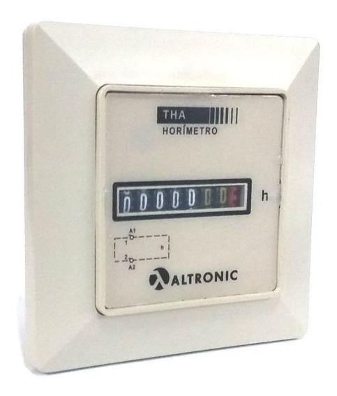 Totalizador De Horas (horimetro) 220vca Altronic