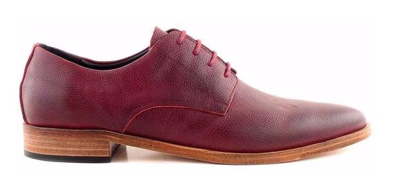 Zapato Cuero Hombre Cordon Negro Briganti Suela Hcac00868 Fl