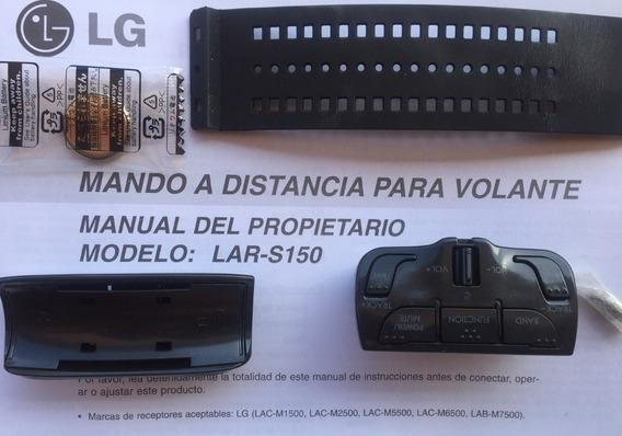 Control Remoto Lg Para Volante Mando A Distancia Lar-s150 Lg