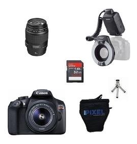 Kit Dentista Canon T6 + Lente 100mm Macro + Yn-14ex S Juros