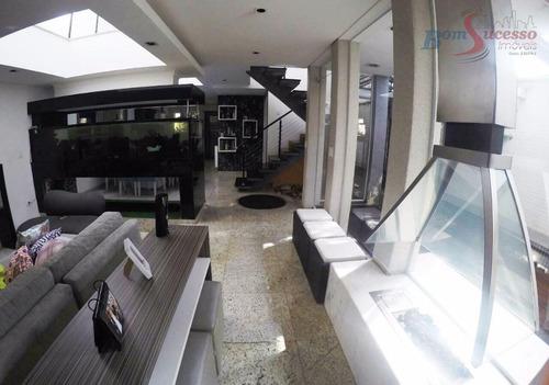 Sobrado Com 3 Dormitórios À Venda, 280 M² Por R$ 990.000,00 - Vila Santa Clara - São Paulo/sp - So0700