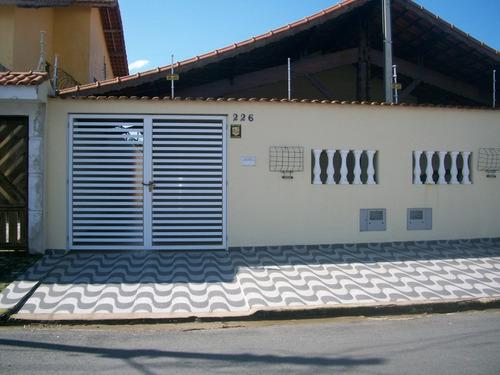 Casa Na Praia Em Mongaguá  Lado Praia