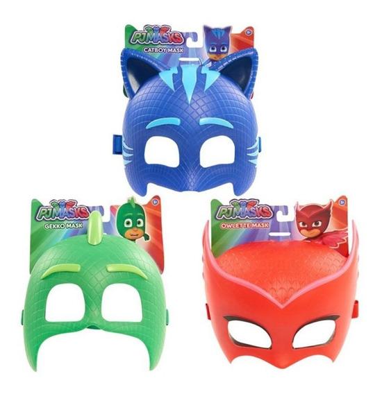 Máscara De Juguete Héroes En Pijamas. Caffaro