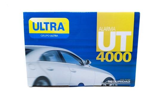 Alarma Ultra Para Carro Ut4000 Original