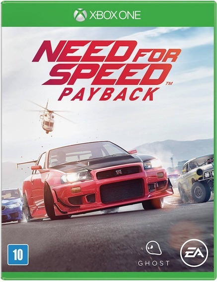 Game Xbox One Need For Speed Payback - Original - Novo