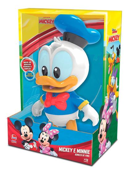 Boneco Baby Pato Donald Mickey Mouse Vinil A Líder