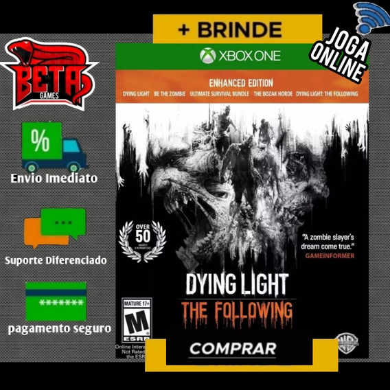 Dying Light The Following - Xbox One - Digital + Brinde