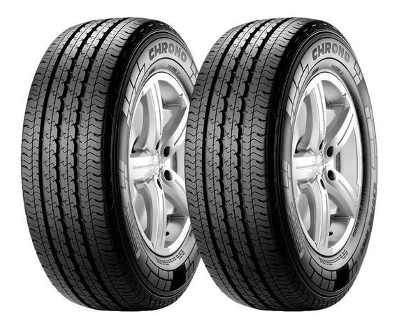 Kit 2 Neumaticos Pirelli Chrono 205/75 R16 110r Cuotas