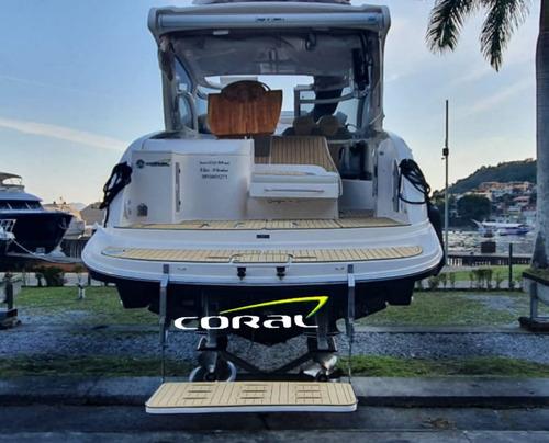 Imagem 1 de 13 de Lancha Coral 34ht Full 2015 Diesel Completa