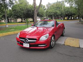 Mercedes-benz Slk 350 2012 Unico Dueño Nuevo