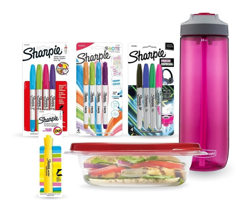 Pack Back To School Con Sharpie X16 Piezas