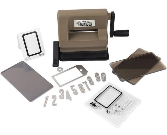 Maquina De Corte Y Repujado Mini Sidekick Starter Kit Sizzix