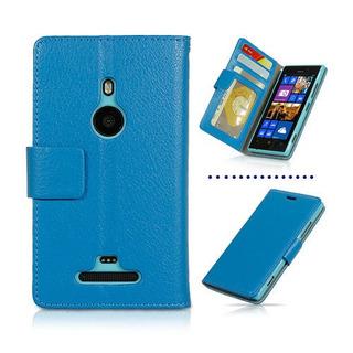 Pedido Estuche Tarjetero Billetera Lumia 925 Cyan