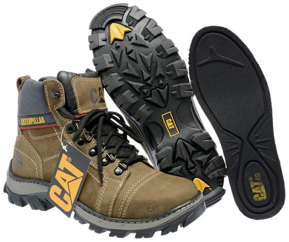 Bota Cat Adventure Caterpillar Coturno Tênis