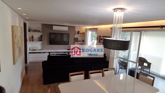 Apartamento Com 4 Dormitórios À Venda, 189 M² Por R$ 1.350.000,00 - Vila Adyana - São José Dos Campos/sp - Ap5227