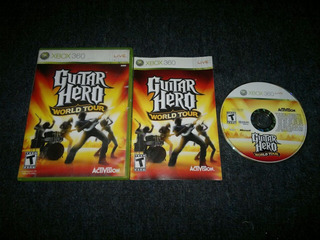 Guitar Hero World Tour Completo Para Xbox 360,excelente