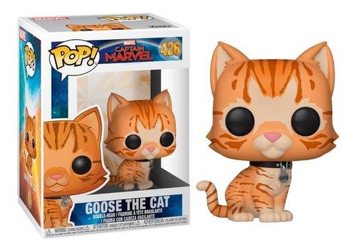 Funko Pop Goose The Cat Captain Marvel - Capitana Marvel