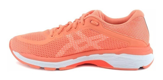 Asics Zapatilla Running Dama Gel Pursue 4 Salmon Blanco