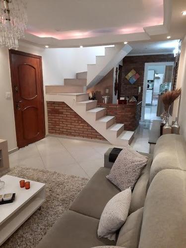 Sobrado Com 3 Dormitórios À Venda, 121 M² Por R$ 615.000,00 - Bosque Dos Eucaliptos - São José Dos Campos/sp - So0312
