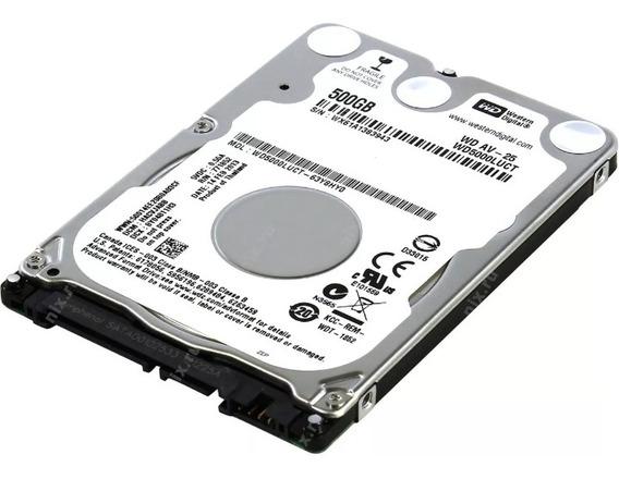 Hd De Notebook Western Digital 500 Gb Sata