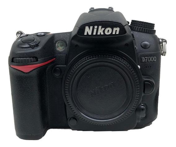 Câmera Nikon Corpo D7000 Seminova