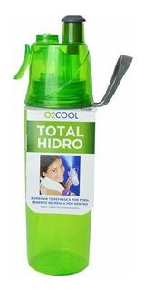 Garrafa Squeeze Com Borrifador O2 Cool Total Hidro Verde Dtc