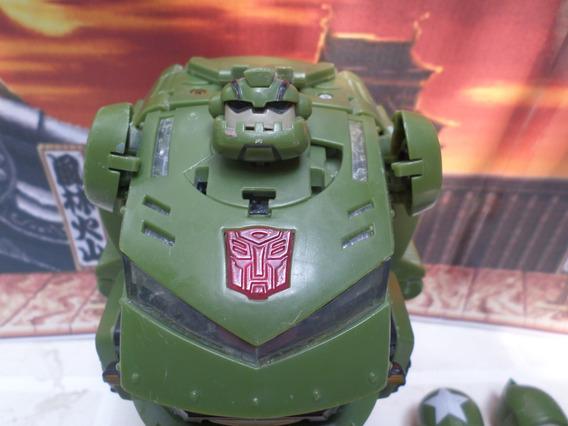 Bulkhead Transformers Animados Autobot Hasbro 2007 P Custom