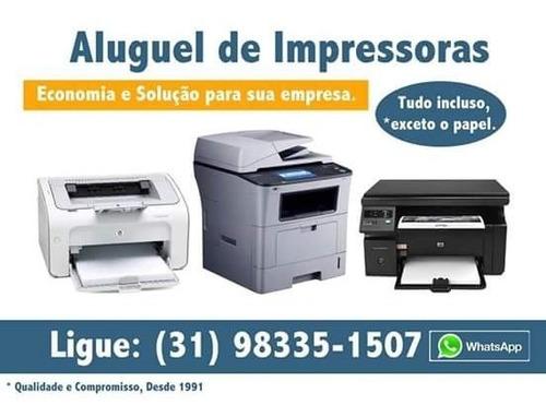 Imagem 1 de 2 de Venda E Aluguel De Impressoras