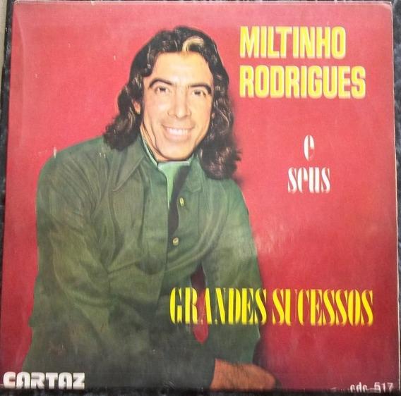 Compacto Miltinho Rodrigues (novissimo)