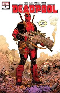 Deadpool #1 (2018) Marvel Lgy#301