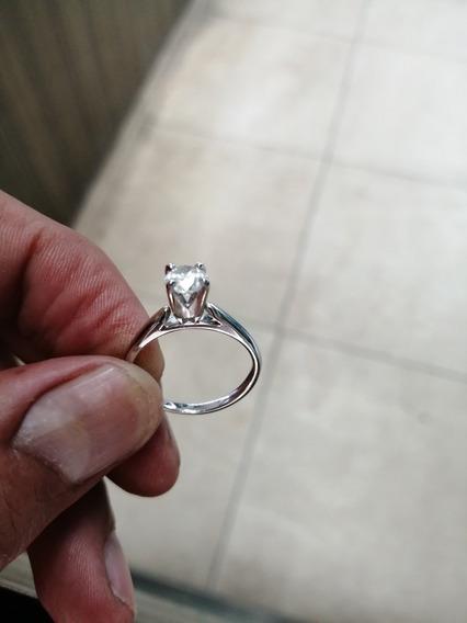Anillo De Compromiso Diamante Certificado Gia .75ct H I2