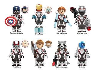 Pack 8 Figuras Avengers Compatible Con Lego Envío Gratis