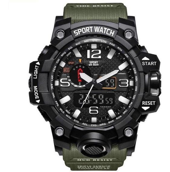 Relógio Sport Watch Esportivo Tático Militar A Prova D