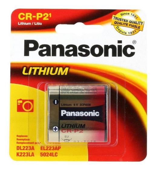 Pila Panasonic Lto Crp2 6v Cr-p2pa1b
