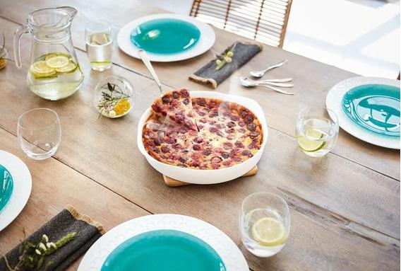 Fuente De Horno Redonda Smart Cuisine, Luminarc 28 Cm