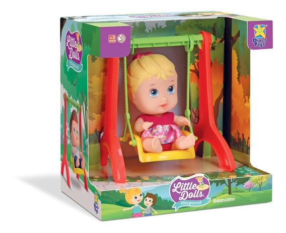 Little Dolls Balancinho Menina 8099 - Divertoys